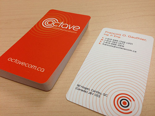 Octave Business Card