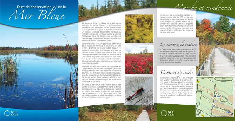 brochure templates for school project - school project s1 mer bleu folded brochure dany pepin